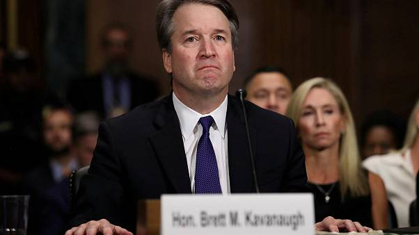 El Juez Kavanaugh testifica ante el Comité Judicial del Senado.