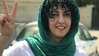 نرگس محمدی به یورونیوز: زندان مرا نخواهد شکست