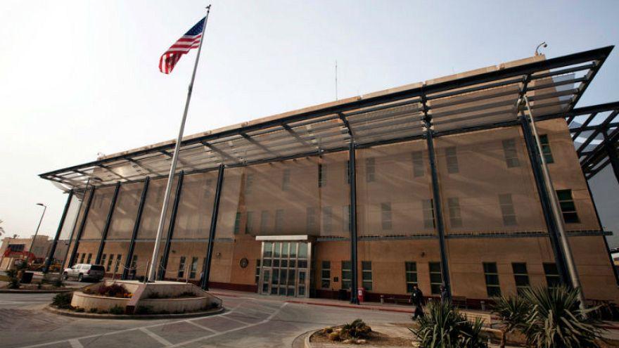 ABD Bağdat Büyükelçiliği binası