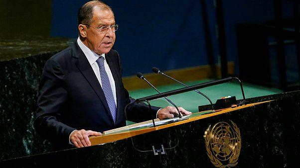 سرگئی لاوروف وزیر خارجه روسیه