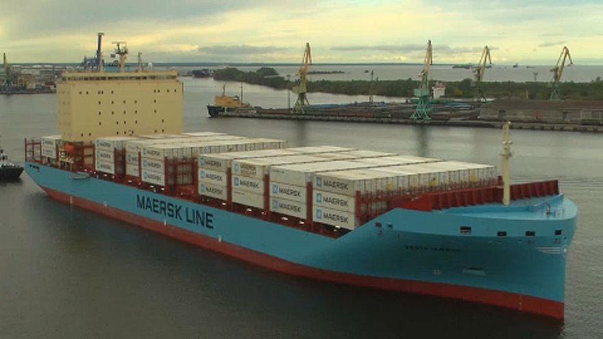 """سفينة دنماركية تختبر """"الخط البحري"""" في القطب الشمالي الروسي"""