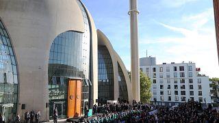 إردوغان يفتتح المسجد الرئيسي في كولونيا غرب ألمانيا