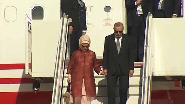 """Último día de Erdogan en Alemania en una visita marcada por """"profundas diferencias"""""""