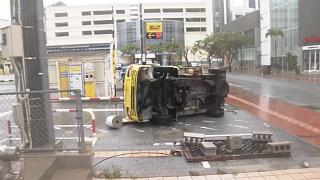 Typhoon Trami cripples Okinawa, threatens Japan's main islands