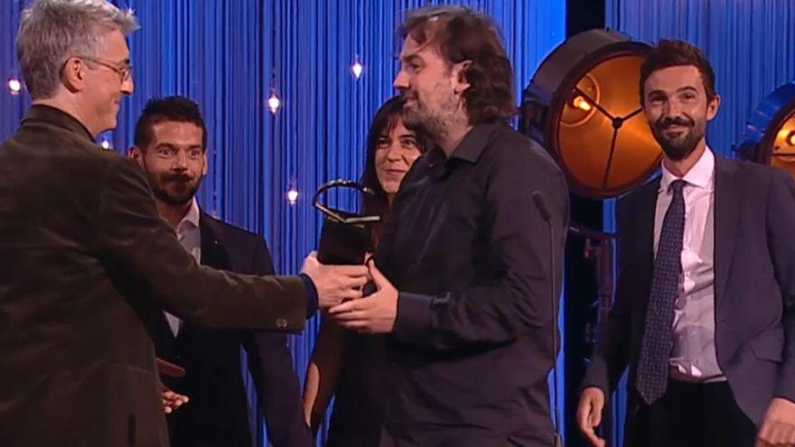 Isaki Lacuesta reçoit la Coquille d'or