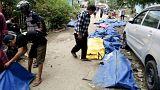 تلفات زلزله و سونامی در اندونزی