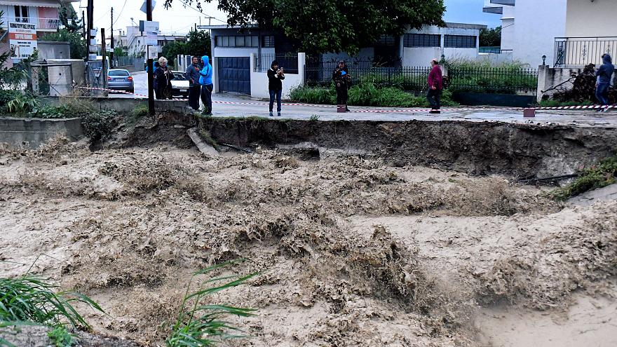Τρεις αγνοούμενοι στην Εύβοια εξαιτίας του κυκλώνα «Ζορμπά»