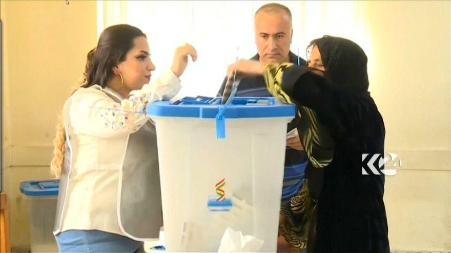 Kuzey Irak'ta Parlamento seçimleri: Katılım düşük, seçmen umutsuz