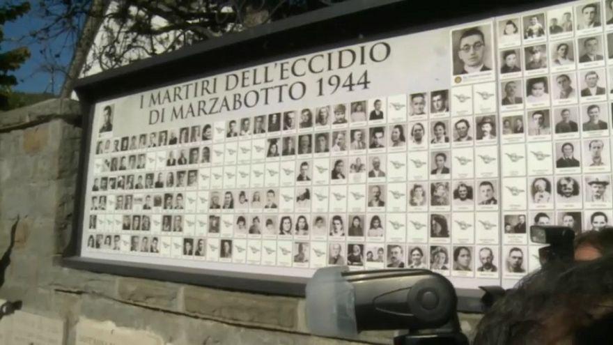 """Maas a Marzabotto: """"Dolore e vergogna davanti alle vittime"""""""