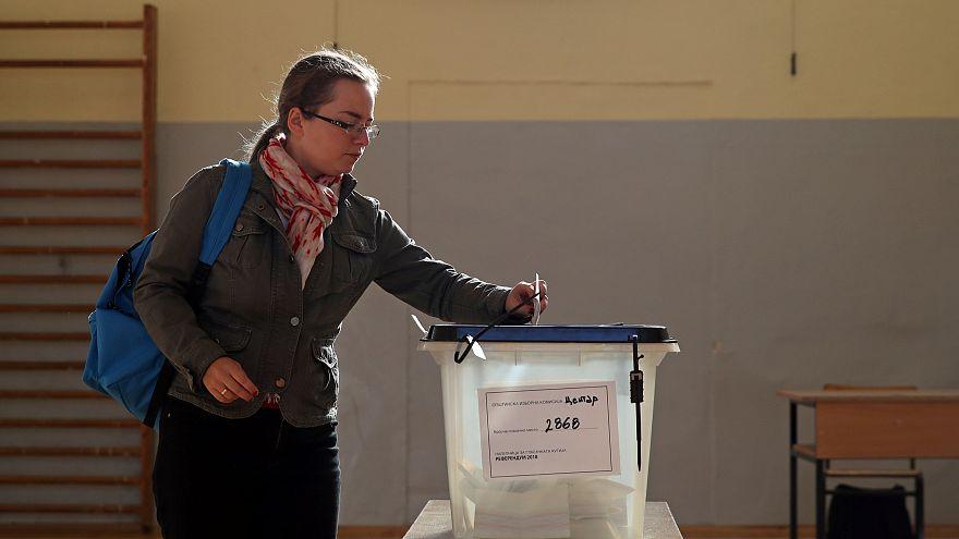 ΠΓΔΜ: Στο 29,05% η συμμετοχή δύο ώρες πριν κλείσουν οι κάλπες