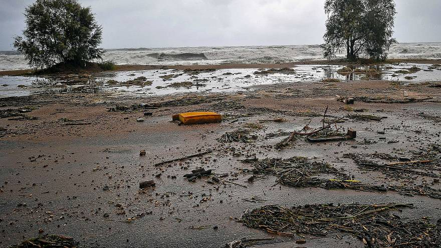 Three people missing as cyclone brings flash floods in Greece