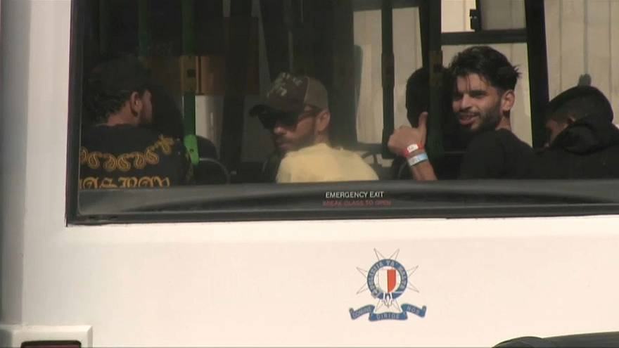 L'Aquarius a pu débarquer à Malte 58 migrants, dont de jeunes enfants