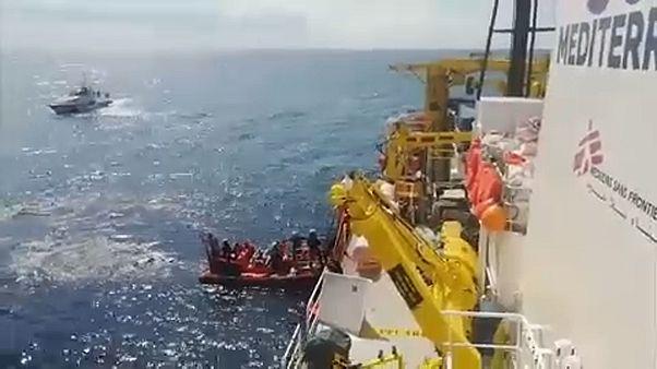 Az Aquarius 58 utasa szállt partra Máltán