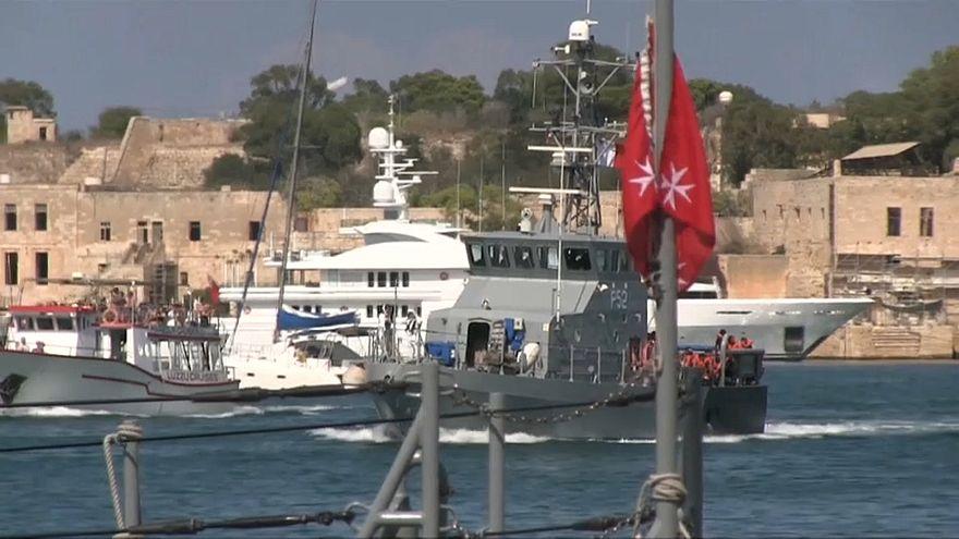 "Malta: 58 Migranten konnten Rettungsschiff ""Aquarius"" verlassen"