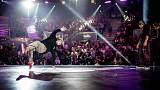 Woman wins global breakdancing competition for the first time