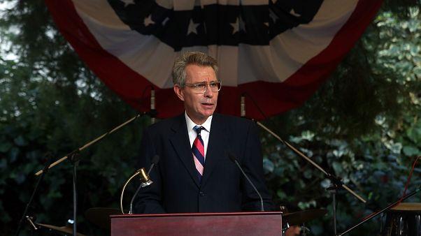 Ο πρέσβης των ΗΠΑ, Τζέφρι Παϊάτ