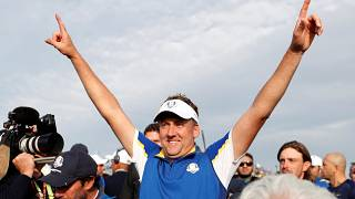 Europe clinches Ryder Cup victory in Paris
