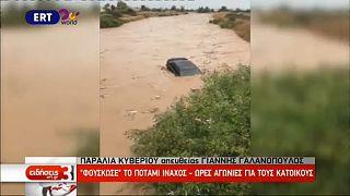 Hatalmas pusztítást végzett a Zorba ciklon Görögországban