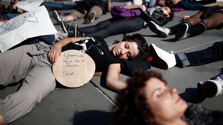Protesta contra la violencia de género en París. 29/9/2018