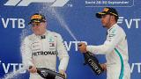 Russian Grand Prix: Lewis Hamilton wins