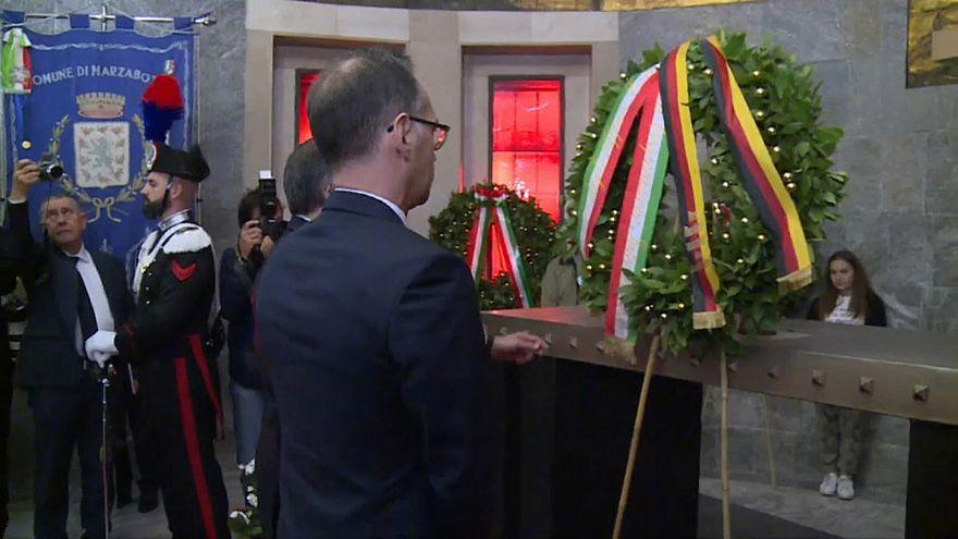 Глава МИД Германии почтил память жертв нацизма в Италии