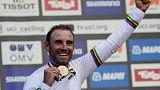 Valverde gana el Mundial de Ciclismo