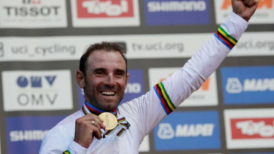 Вальверде выиграл групповую гонку на чемпионате мира