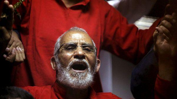 """صورة أرشيف/ المرشد العام لجماعة """"الإخوان المسلمون"""" محمد بديع"""