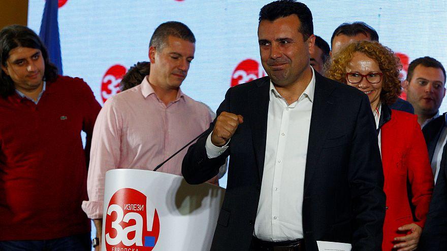 """Nom de la Macédoine : large victoire du """"oui"""", forte abstention"""