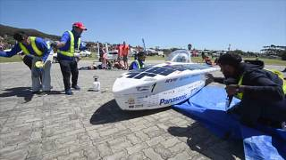 Üniversite öğrencilerinin tasarımı güneş enerjili araçlar yarışıyor