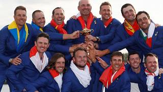 Golf : l'Europe décroche la Ryder Cup