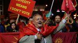 El Gobierno macedonio seguirá adelante con sus planes a pesar del fracaso del referéndum