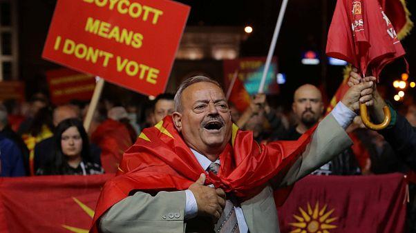Mazedonien: Unklarheit nach Volksabstimmung