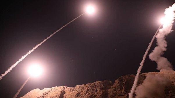حمله موشکی سپاه پاسداران ایران