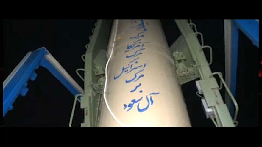 شاهد: الصور الأولى للقصف الإيراني بالصواريخ على معاقل مسلحين بمنطقة البوكمال