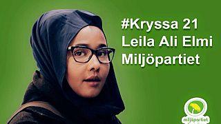 ليلى علي علمي.. أول مسلمة محجبة منتخبة في البرلمان السويدي