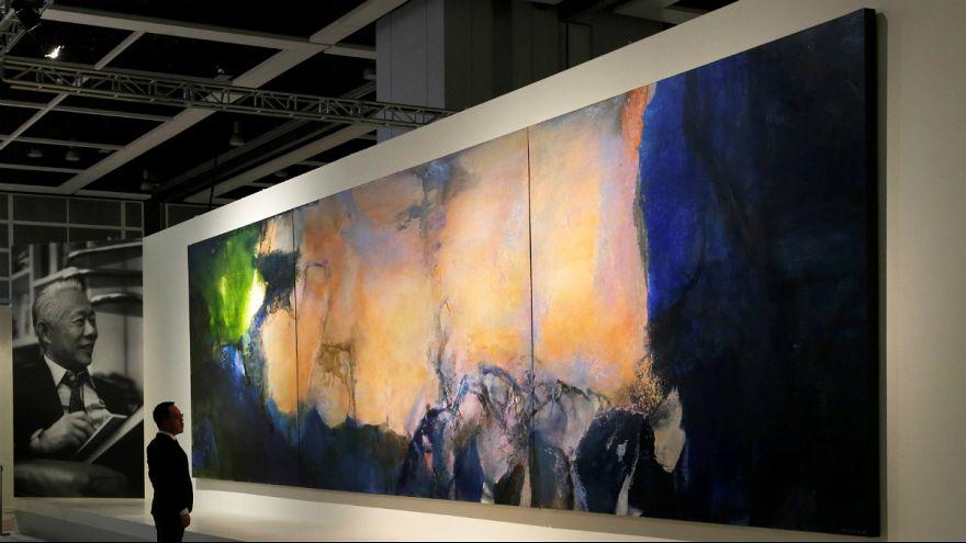 تابلوی نقاش چینی-فرانسوی ۶۵ میلیون دلار در هنگ گنگ فروخته شد