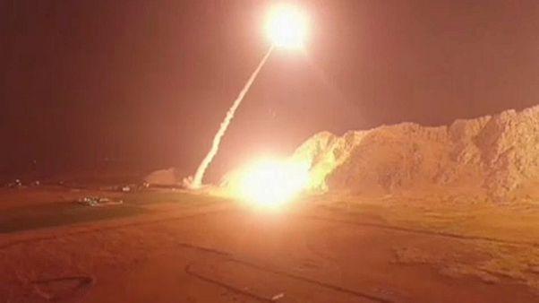 Missili iraniani contro basi dei ribelli in Siria