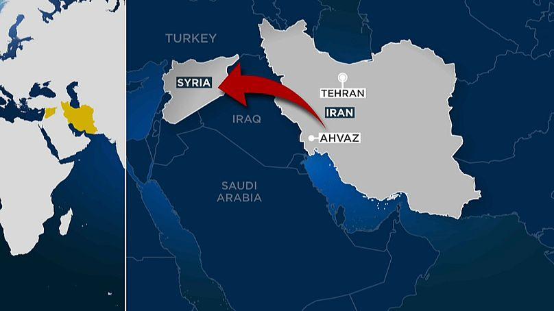 Brennpunkt Vergeltung für Anschlag: Iran greift den IS in Syrien an Teheran
