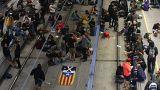 Blokádok a katalán népszavazás évfordulóján