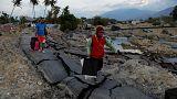 Массовые захоронения жертв землетрясения