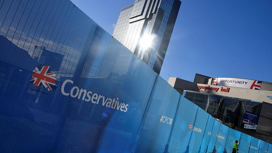 The Conservative Party conference is held at the ICC in Birmingham