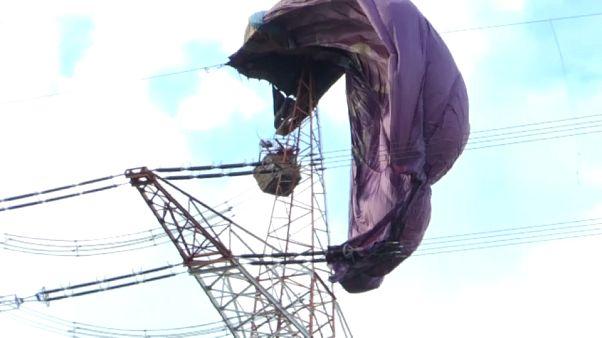 Spectaculaire accident de montgolfière en Allemagne