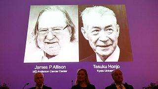 جایزه نوبل پزشکی سال به آلیسون آمریکایی و هونجو ژاپنی بخاطر کشفیاتشان درباره سرطان اعطا شد