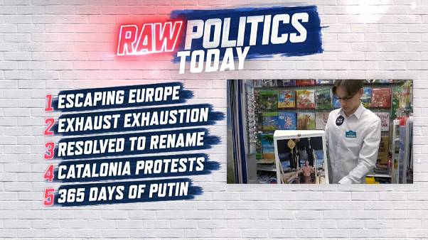 Raw Politics: Is the EU like a Soviet prison? What now for Macedonia? And how much CO2 will EU cut?