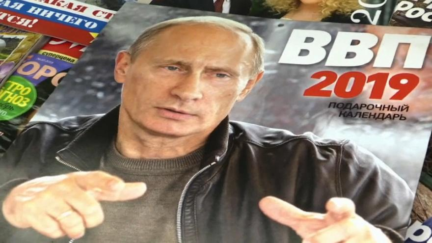 Raw Politics: 2019 calendar among the latest Putin merch