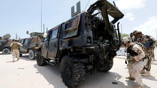 تفجير بسيارة ملغومة يستهدف موكبا للاتحاد الأوروبي في الصومال