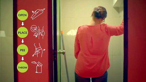 شاهد: طريقة مبتكرة لمساعدة النساء على التبول دون الجلوس على المرحاض