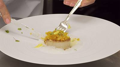 """Thierry Voisin reveals his recipe for Coquille St. Jacques for """"Taste"""""""
