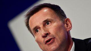 Jeremy Hunt, ministro dos Negócios Estrangeiros britânico